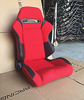 Easy Installation Car Racing Seats Comfortable Leather Adult Car Booster Seat